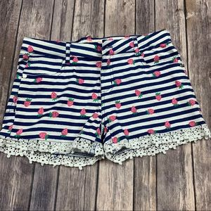 Colette Lilly girls strawberry shorts